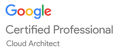 Google Certified Professional Cloud Architech Logo
